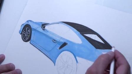 TECHART 泰卡特 991.2 Turbo S~手工绘图,画的好漂亮!御胜汽车400 009 0777转4,Sam 15821201085