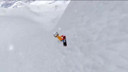 滑雪游戏视频.mp4