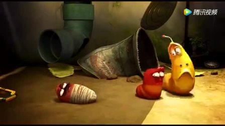 小红和小黄在鼻涕拔河赛 来了一个和小红长的一模一样的虫虫