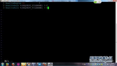 56后盾网php视频教程 Rewrite全站伪静态与图片防盗链实例及自定义404页操作与rewrite细节知识