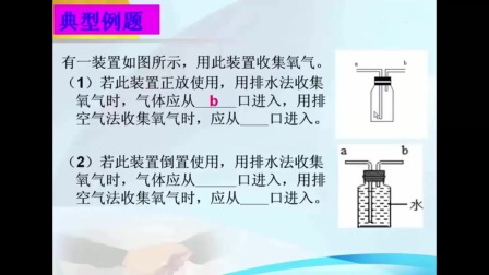 制取氧气中以集气瓶为背景的实验专题