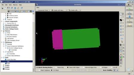 XFdtd FICA Antenna Creation Tutorial - Part II.mp4