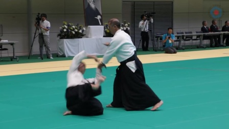 Etsuji Horii (堀井悦二) - Aikido Demonstration