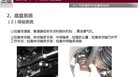 6.1.2 二级维护基本作业项目《汽车维修工(三级)》