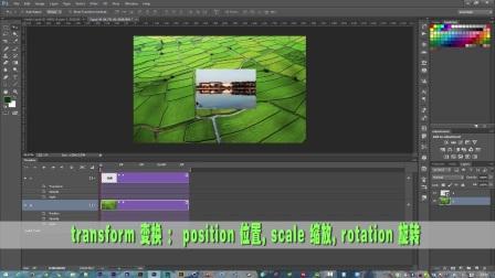 PS制作GIF动态图片:8实现动画的关键帧属性(一)