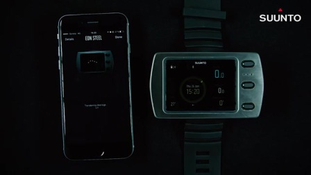 Suunto Eon steel how to pair with movecount app with Android