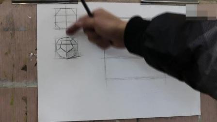 素描基础教程色彩培训_素描头像_铅笔山水画技法素描学习