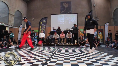 【5BBOY】LUAN vs ONIZUKA - 1-8 FINAL - ONE-ONE BATTLE 2017
