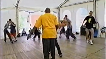 Frankie Manning & Åsa Palm, Herräng 1999