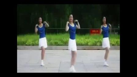小苹果筷子兄弟现场版王广成广场舞踩踩踩