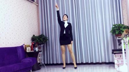 青青世界广场舞 动感励志健身操《小目标DJ》附背面 原创杨丽萍