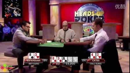 德州扑克大神们的尴尬时刻05:好不容易卡出顺子却^^