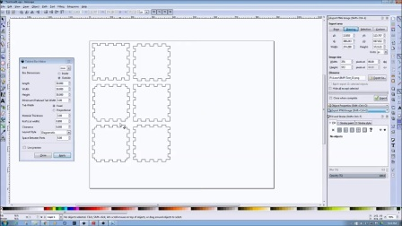 Inkscape Laser Tutorials -  Using the Tabbed Box Extension