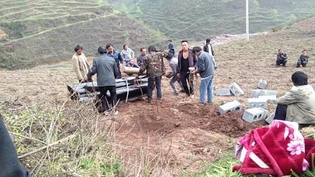 2017年三月十二日贵州省赫章县古达乡官房村