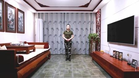 云裳广场舞单人水兵舞 《红马鞍》云裳老师原创附分解