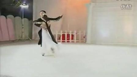 国标舞教学视频 国标舞华尔兹示范表演_标清