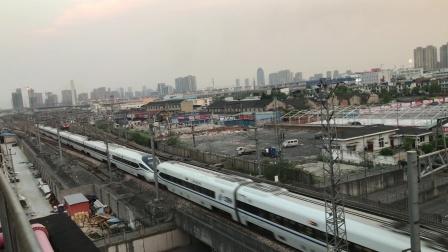 杭深线 D3103 上海虹桥-福州南 宁波中兴立交桥 2017-04-15