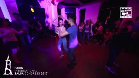 Alfonso & Melissa - social dancing @ preparty SALONS VIANEY
