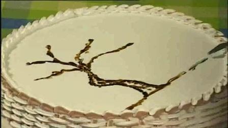 草莓奶油乳酪生日蛋糕切水果蛋糕玩具