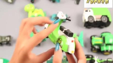儿童玩具合集第76集 碰碰狐汽车儿歌(2)