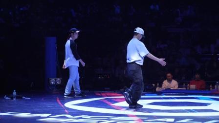 【5BBOY】KANATA vs Eiji aka C☆J BEST8 KIDS DANCE ALIVE HERO'S 2017