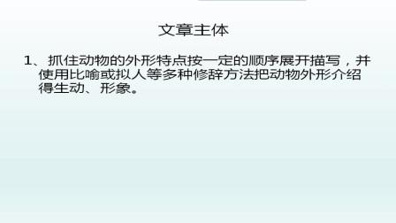 三年级下册语文作文教学微课《小动物作文指导课》邱志萍.wmv