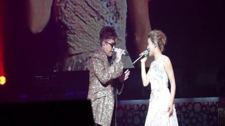 谭咏麟北京演唱会邀丁当首唱新歌《强求好吗》