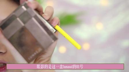春季妆容!水原希子仿妆 ,日系杂志混血妆容