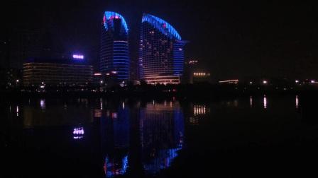 夜幕下的港城-长发如风