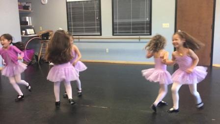 2016 闺女四岁 芭蕾舞课