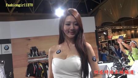 HD 2016 7 22 五股國際重型機車展Motorcycle show BMW女孩 萍萍兒一日限定