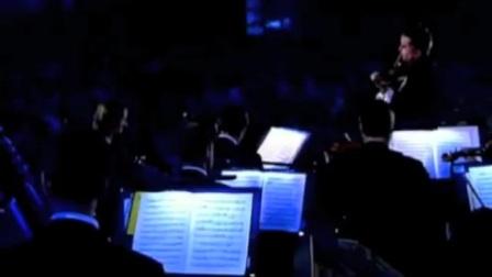 Nigel Kennedy performing J.S. Bach's A minor violin concerto