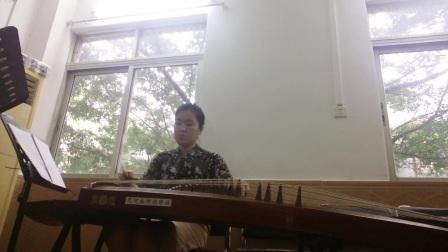 潮州古筝曲,昭君怨,演奏者胡珏敏,梆胡周双喜,琵琶陈先生