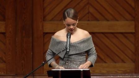 蕾哈娜哈佛大学演讲