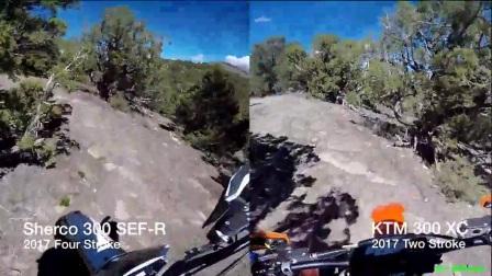 2 Stroke vs 4 Stroke - 300 vs 300 - The Ride - Episode 240