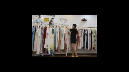 棉麻女夏装连衣裙,格蕾斯品牌折扣女装批发