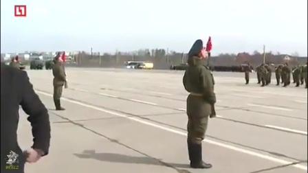2017年俄罗斯胜利日红场阅兵彩排 4月21日