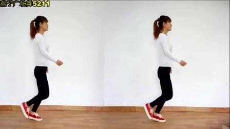 16步曳步舞 适合初学者《女人没有错》分解动作 燕子广场舞