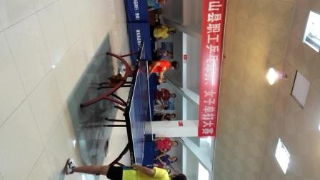 灵山县2017五一乒乓女单决赛