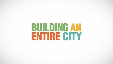 MG 动画:Build A City Motion Graphic a Project by www.pcl.is