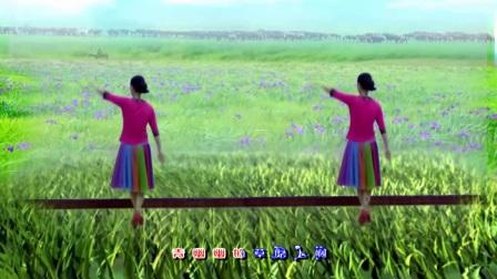 晓晓喜欢广场舞《马兰花》摄影制作习舞晓晓