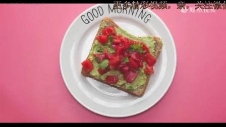 5个牛油果吐司早餐食谱,让你工作日一周不重样