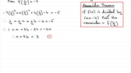 Factor and remainder theorem R6《a》