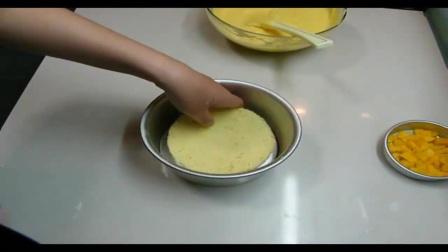 蛋糕制作裱花视频 刘科元生日蛋糕裱花.MP