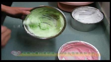 蛋糕裱花│生日蛋糕裱花视频│欧式蛋糕