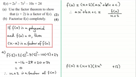 Factor and remainder theorem F3