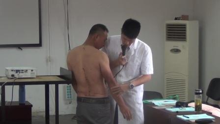 中医正骨培训 张振听零力度1、人体骨骼讲解以及骨盆复位手法的演示