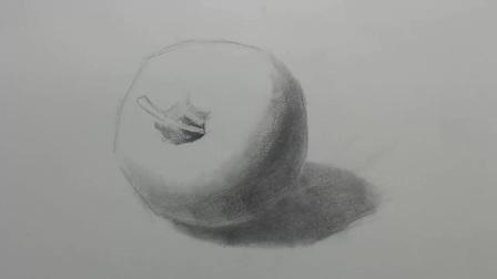 央美名师讲解:素描基础教程——如何画好苹果的6大技巧上