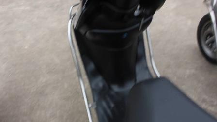 二手五羊本田优悦110cc摩托车燃油助力四冲程女装代步绵羊踏板车