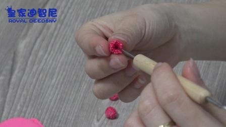 草莓蛋糕黏土制作-皇家迪智尼益智玩具加盟店-儿童玩具店加盟